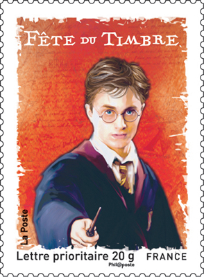 Harry Potter French Stamp